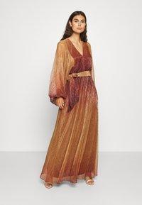 InWear - GIZELA DRESS - Suknia balowa - cayenne ombre - 0