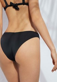 Calzedonia - MIT HOHEM BEINAUSSCHNITT INDONESIA ECO - Bikini bottoms - nero - 1