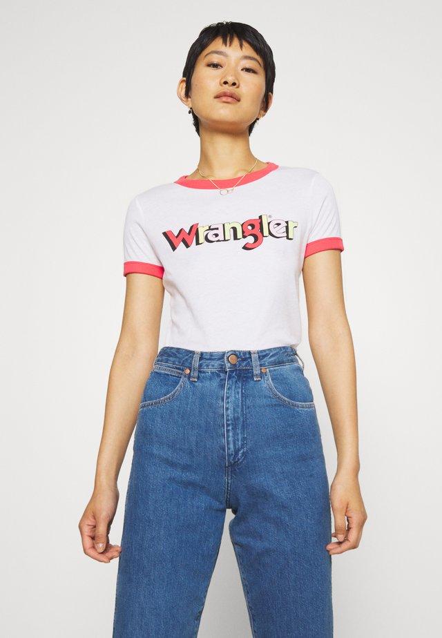 RINGER TEE - Print T-shirt - paradise pink