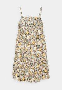 Object Petite - OBJJASIA SLIP DRESS PETIT - Korte jurk - sandshell - 1