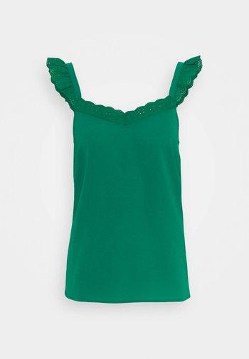 OHILDEGONDE BRET - Blouse - vert bresil