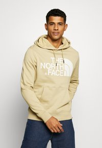 The North Face - STANDARD HOODIE - Bluza z kapturem - beige - 0