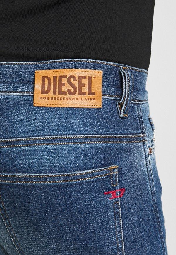 Diesel D-ISTORT-X - Jeansy Skinny Fit - medium blue/niebieski denim Odzież Męska DEVE