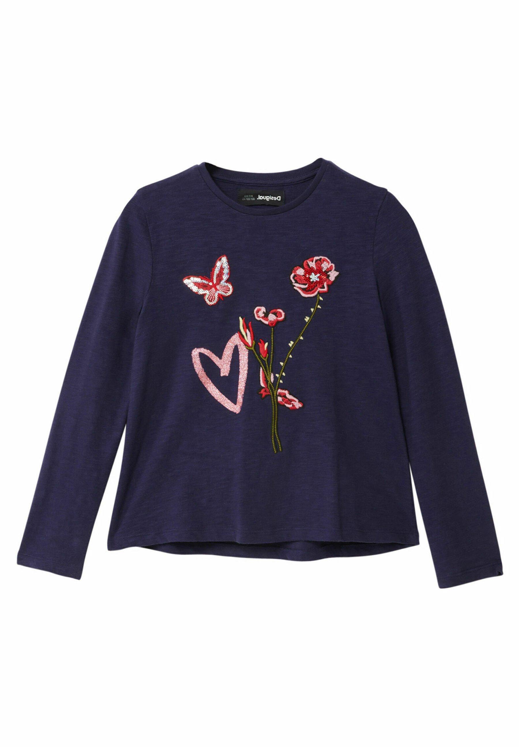 Enfant FLOWERS - T-shirt à manches longues