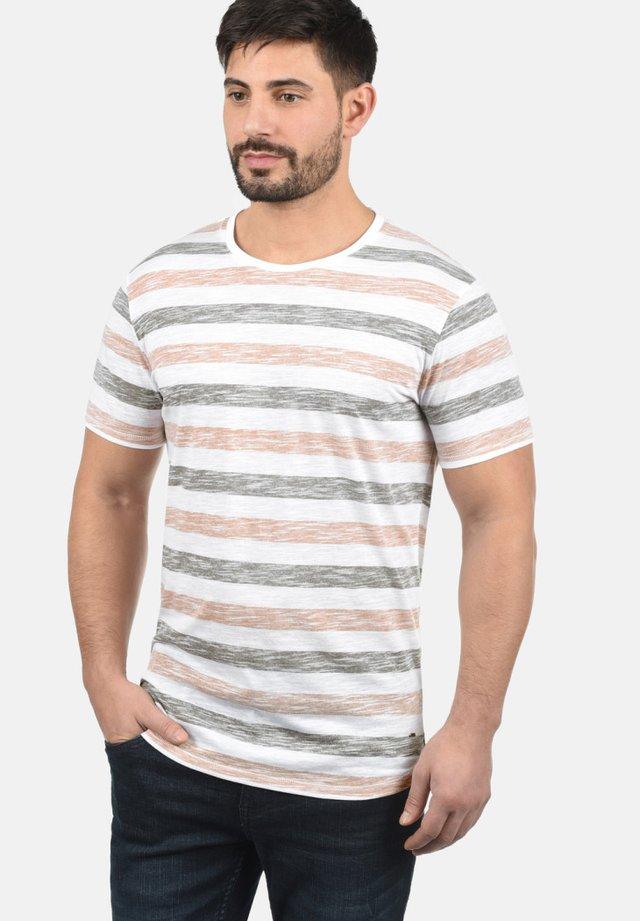 RUNDHALSSHIRT TET - Print T-shirt - light pink