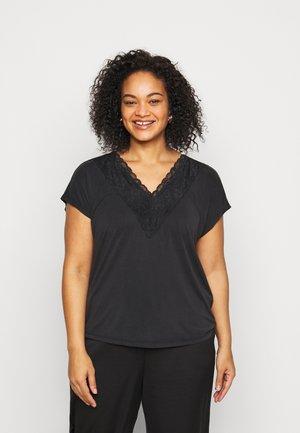VMBIA CURVE - Print T-shirt - black
