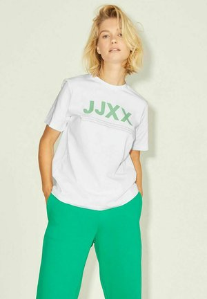 T-shirt z nadrukiem - bright white