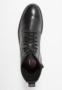 Vagabond - JOHNNY - Lace-up ankle boots - black - 1