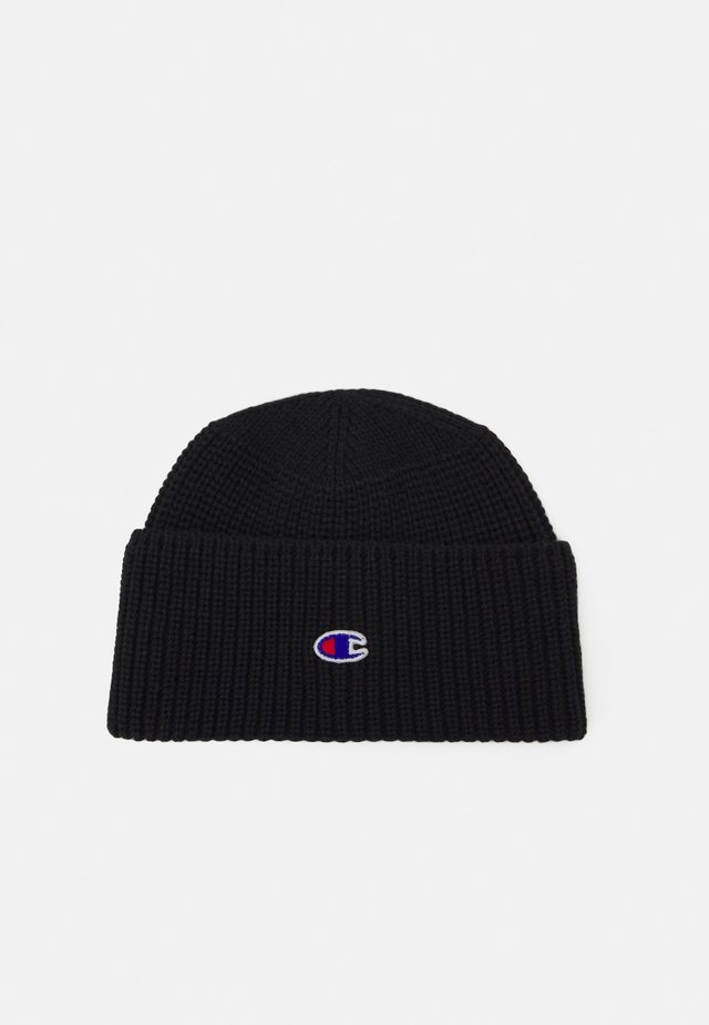 LOGO BEANIE - Bonnet - dark blue