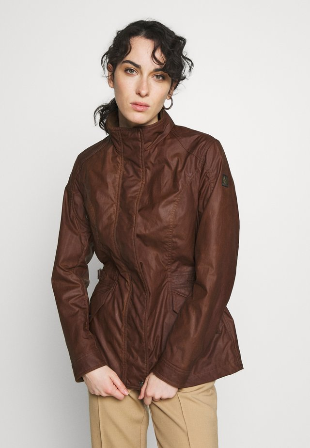 ADELINE JACKET - Summer jacket - light brown