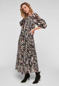 s.Oliver - Maxi dress - black aop - 1