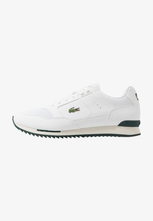 PARTNER PISTE - Sneakersy niskie - white/dark green