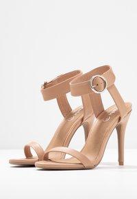 Rubi Shoes by Cotton On - SKYLAR STILLETTO - Sandaler med høye hæler - light taupe smooth - 4