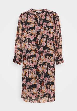 GEORGINEPW DR - Shirt dress - winter rose/black