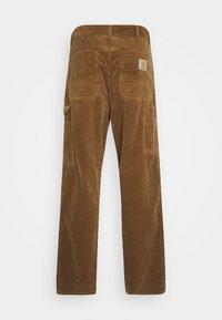 Carhartt WIP - SINGLE KNEE PANT URBANA - Kangashousut - hamilton brown rinsed - 6