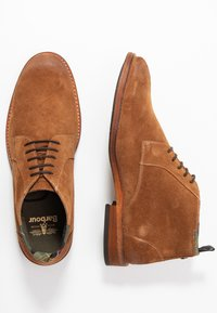 Barbour - BENWELL - Casual lace-ups - cognac - 1