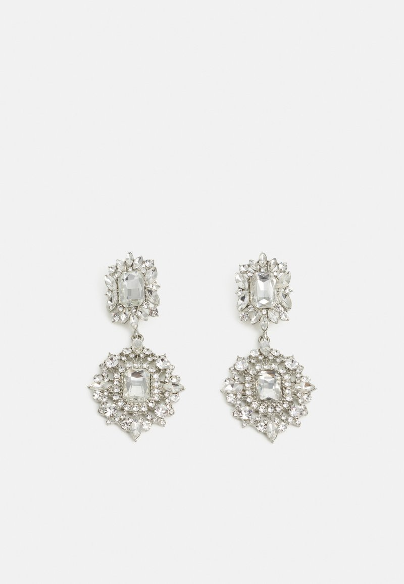 Pieces - PCVIVIAN EARRINGS - Earrings - silver-coloured