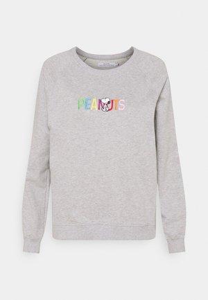 YSTAD RAGLAN PEANUTS LOGO - Sweatshirt - grey melange