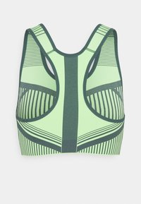 Nike Performance - FLYKNIT BRA - Reggiseno sportivo con sostegno elevato - lime glow/hasta - 1