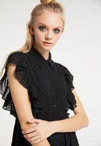 myMo ROCKS - Shirt dress - schwarz - 3