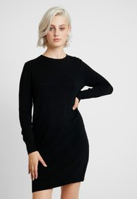 JDY - JDYMARCO DRESS - Gebreide jurk - black - 0