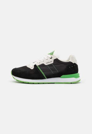 CLASSIC WEST - Trainers - black/white/green