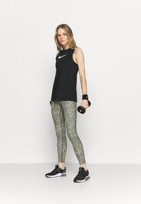 Nike Performance - TANK OPEN - Treningsskjorter - black/white - 1