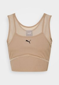 Puma - STUDIO LAYERED CROP  - Top - amphora - 3