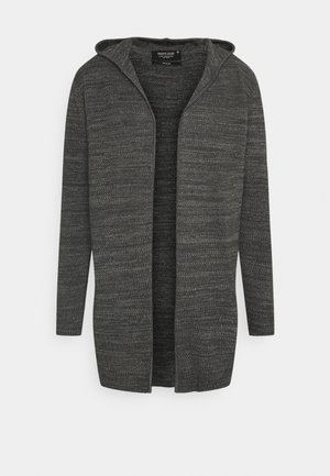 DENZEL - Cardigan - charcoal mix