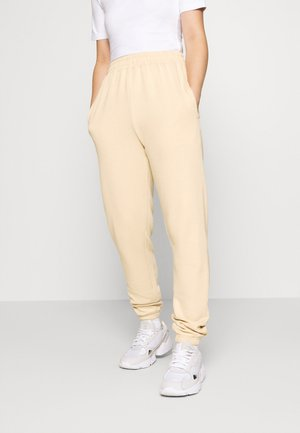 BASIC JOGGERS - Tracksuit bottoms - sand