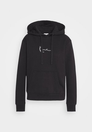 SMALL SIGNATURE HOODIE - Sweatshirt - black
