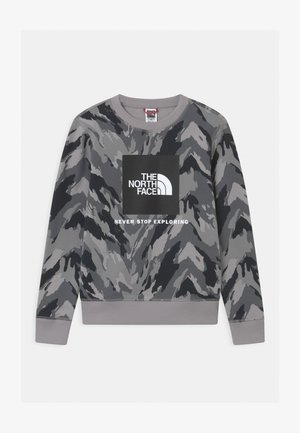 BOX CREW UNISEX - Sweatshirt - meld grey