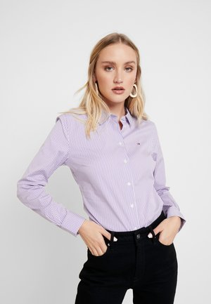 ESSENTIAL - Button-down blouse - dusty lilac