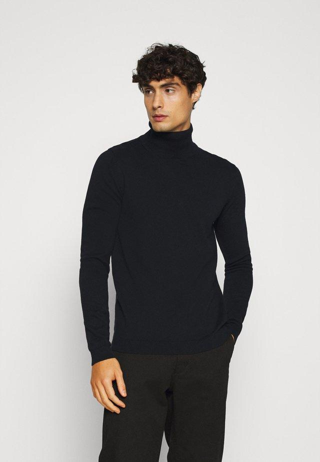 SDLUNO ROLLNECK - Sweter - black