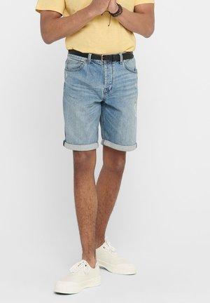 JEANSSHORTS ONSAVI LOOSE SHORTS CAN - Denim shorts - blue denim