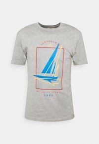 Newport Bay Sailing Club - BOAT 2 PACK - Print T-shirt - dark blue/grey marl - 6