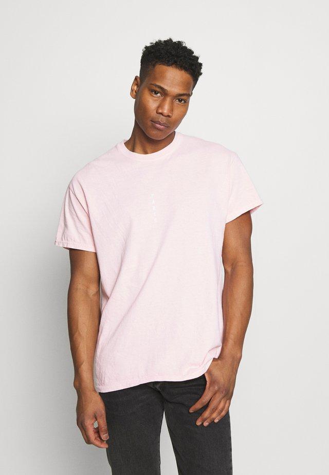PARIS TEE - T-shirt med print - pink