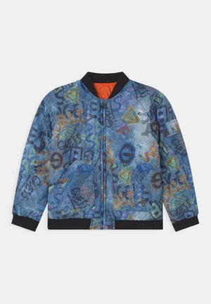 JUNIOR REVERSIBLE QUILTED - Light jacket - dark blue