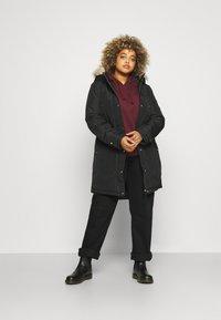 Vero Moda Curve - VMTROK - Winter jacket - black - 1