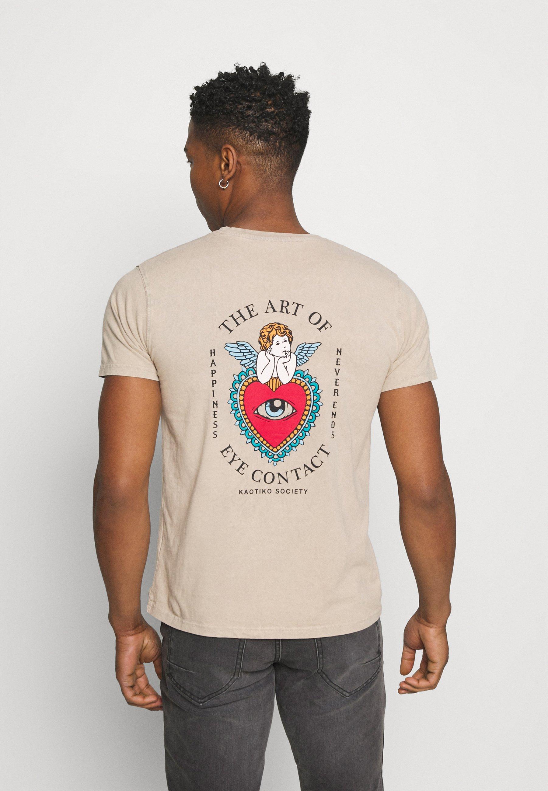 Men EYES TALK UNISEX - Print T-shirt