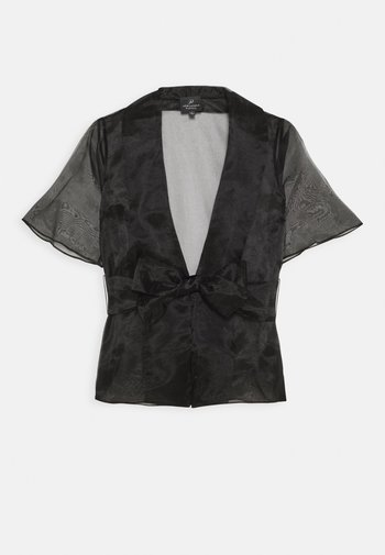 ORGANZA COVER UP - Lehká bunda - black