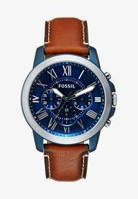 Fossil - Zegarek chronograficzny - hellbraun - 1