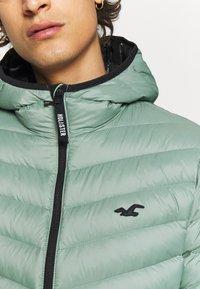 Hollister Co. - PUFFER SAGE - Down jacket - sage - 5