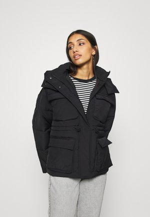 ALBA UTILITY PUFFER - Winter jacket - black
