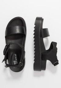 Koi Footwear - VEGAN  - Plateausandalette - black - 3