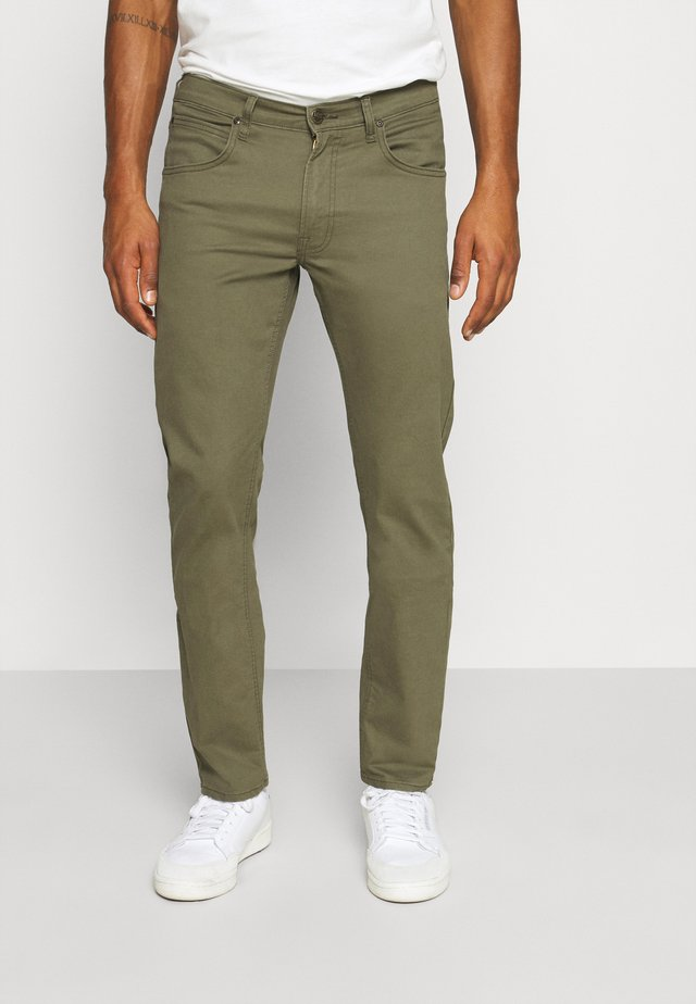 DAREN ZIP FLY - Straight leg jeans - ivy green