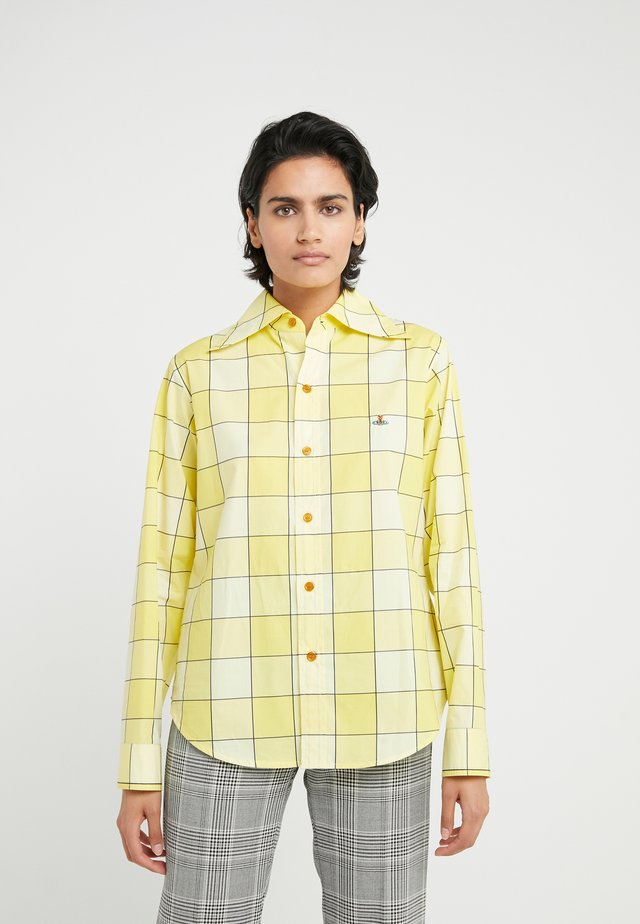 PIANIST  - Camicia - gingham yellow