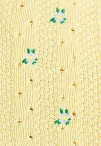 Trendyol - SARI SET - Kardigan - yellow - 5
