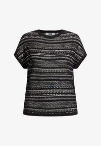 WE Fashion - Print T-shirt - black - 5