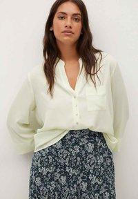 Violeta by Mango - PARADIS - A-line skirt - blau - 3